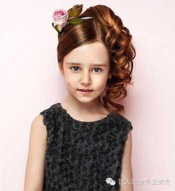外国女宝宝发型图片 欧美儿童发型图集锦