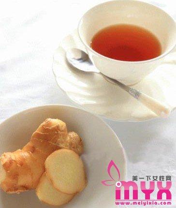 蜂蜜生姜红茶减肥法一周瘦8斤的生姜虫子减肥法牛肚里面有红色的红茶图片