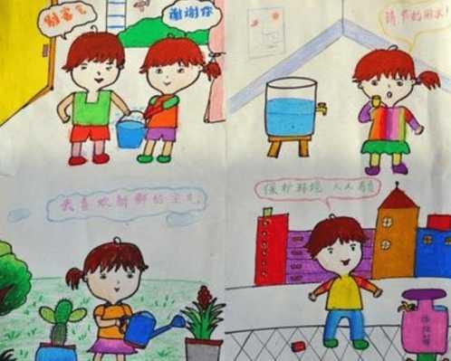 爱卫生儿童画 讲卫生的绘画作品图片欣赏